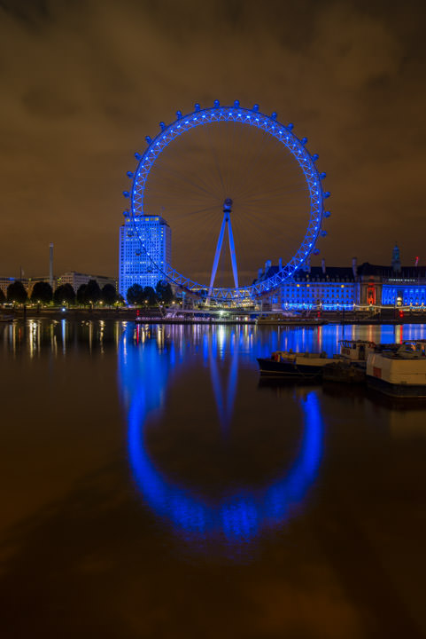 Reflections of London Eye