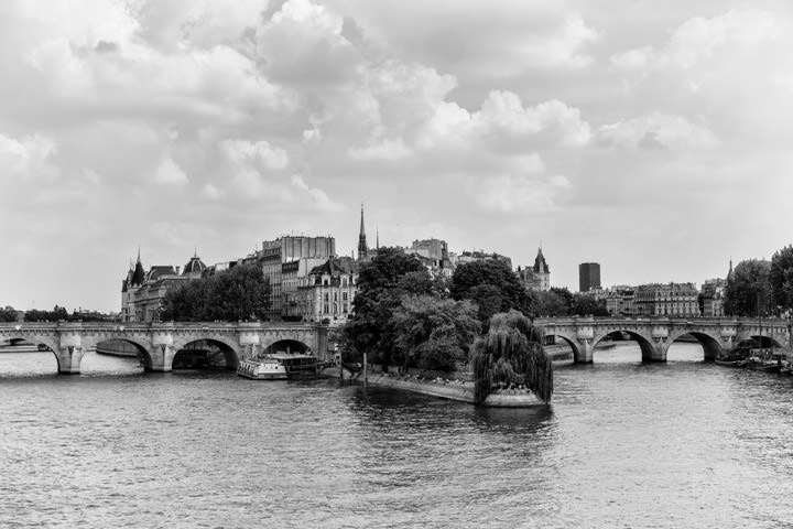 Photograph of River Seine Paris 2