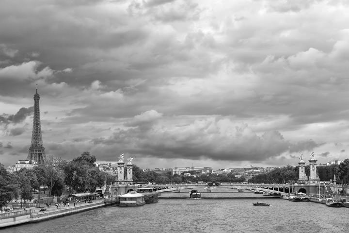 Photograph of River Seine Paris