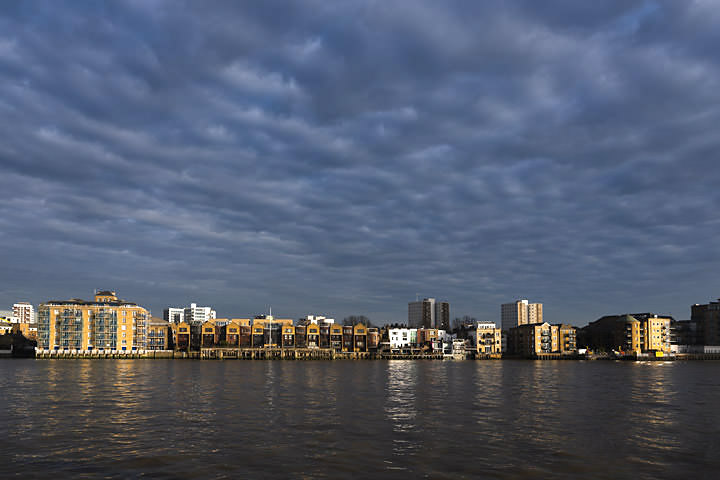 Photograph of River Thames Limehouse