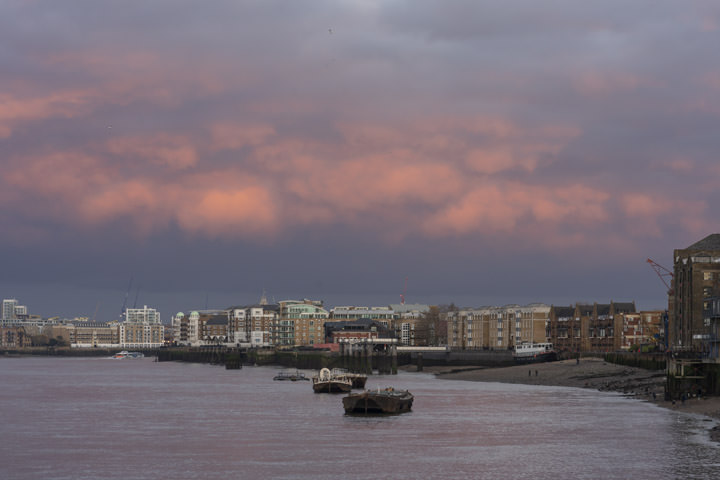 Photograph of River Thames Rotherhithe 2