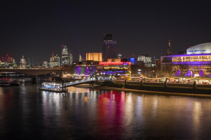 Photograph of River Thames Southbank 1