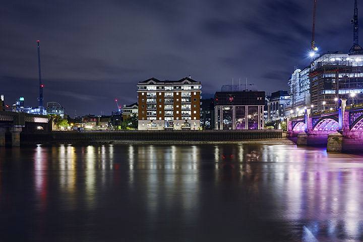 Photograph of River Thames Southwark 3