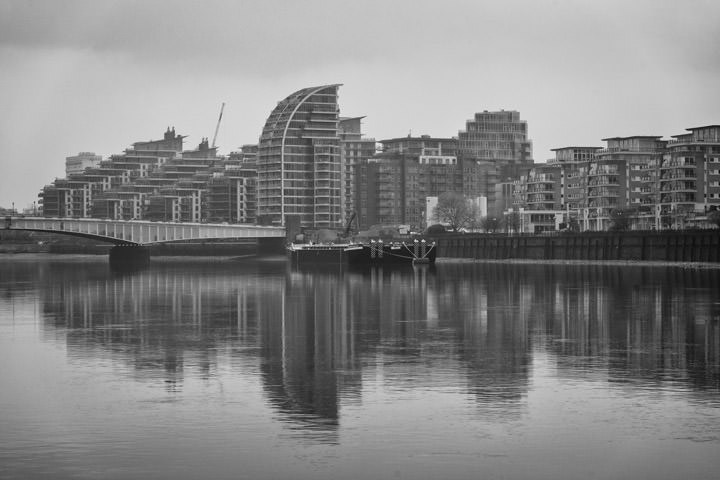 Photograph of River Thames Wandsworth 1