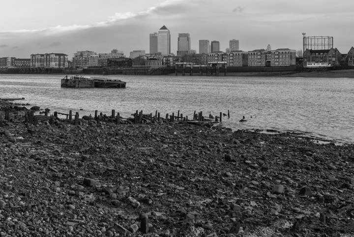 Photograph of River Thames Wapping 3