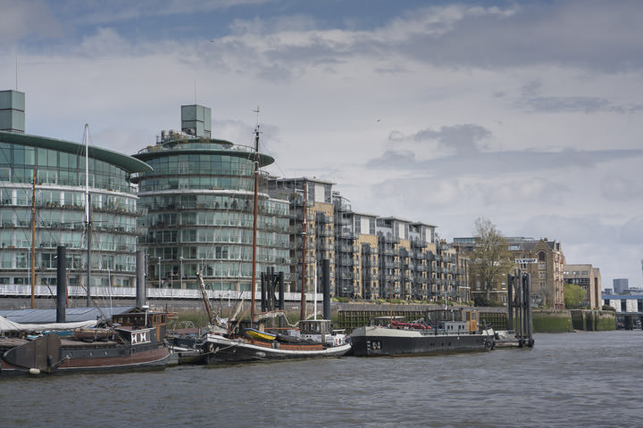 Photograph of River Thames Wapping 5