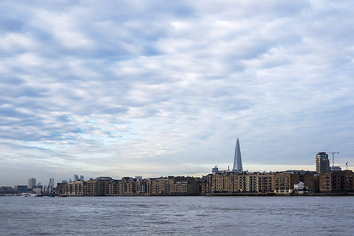 Photograph of River Thames Wapping 8