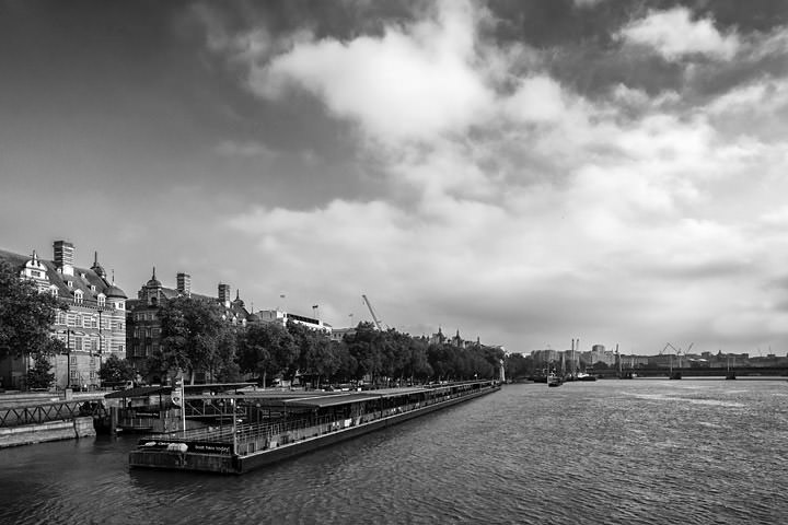Photograph of River Thames Westminster 1