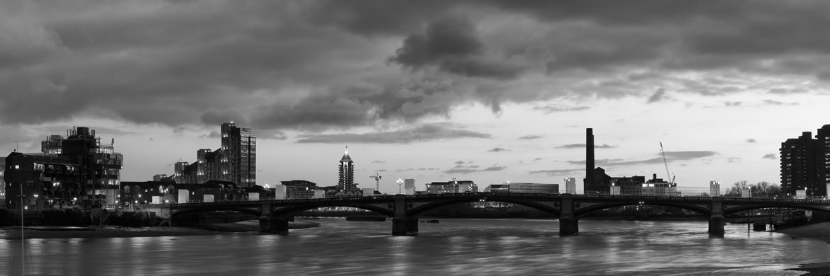 Photograph of River Thames at Battersea 1