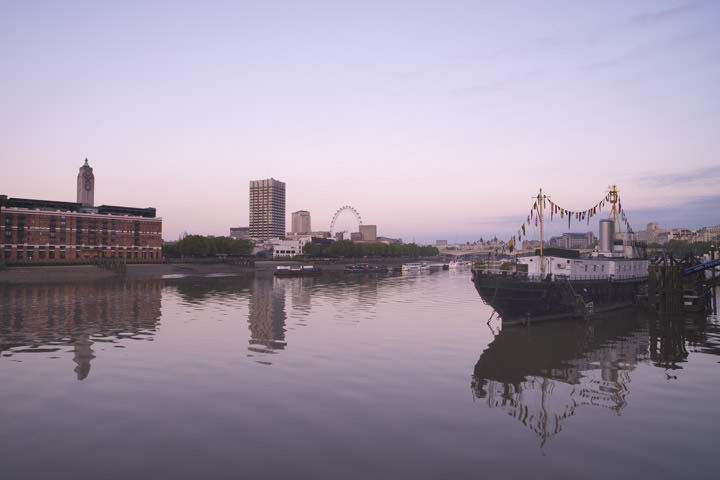 Photograph of River Thames at Dawn 1