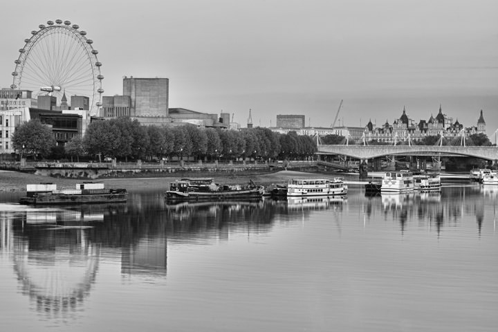 Photograph of River Thames at Dawn 2
