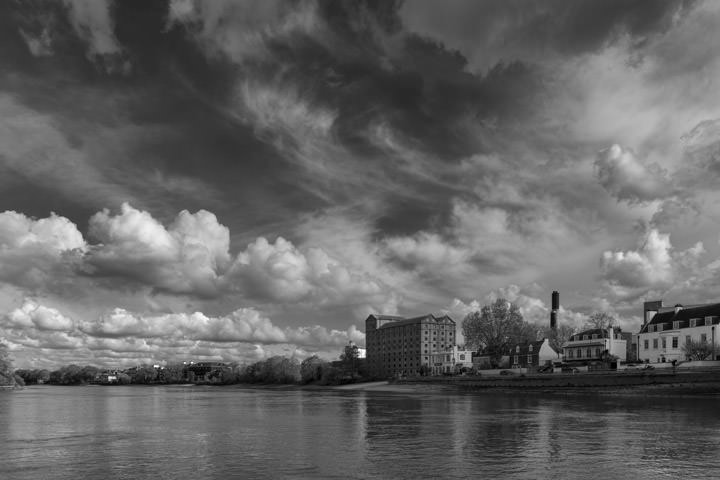 Photograph of River Thames at Mortlake