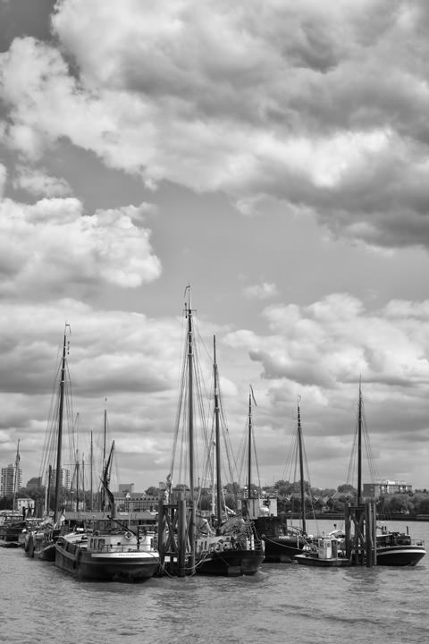 Photograph of River Thames at Wapping