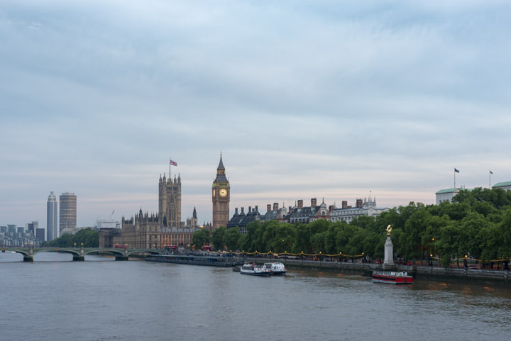 Photograph of River thames at Westminster 3