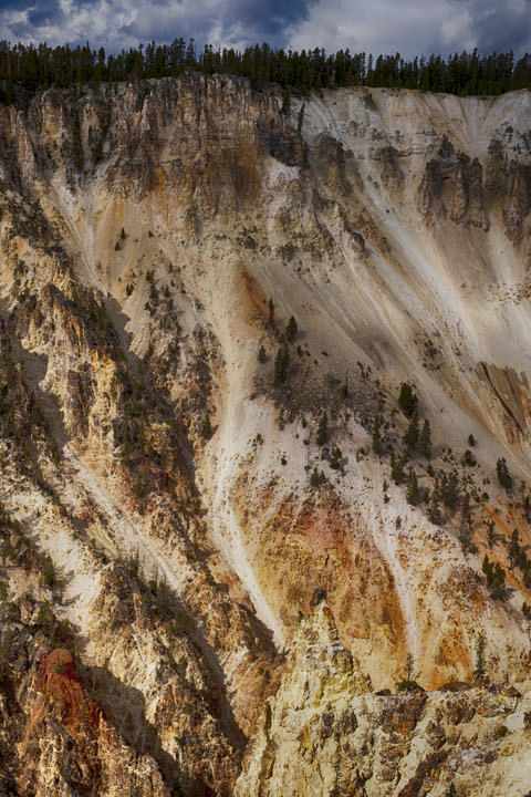 Rockface Yellowstone
