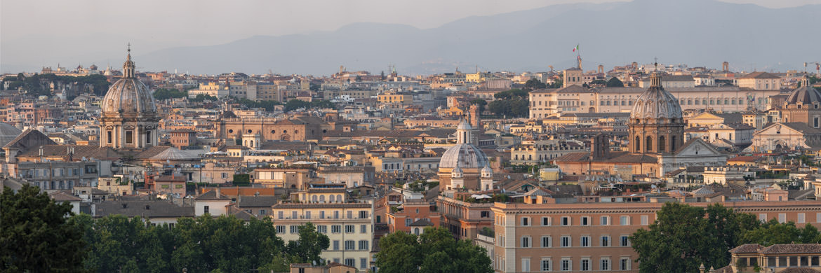 Photograph of Rome Panorama 1
