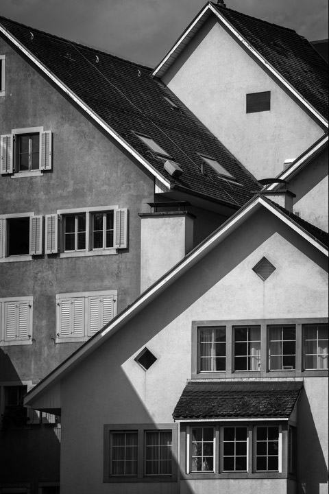 Photograph of Roof Patterns Zurich
