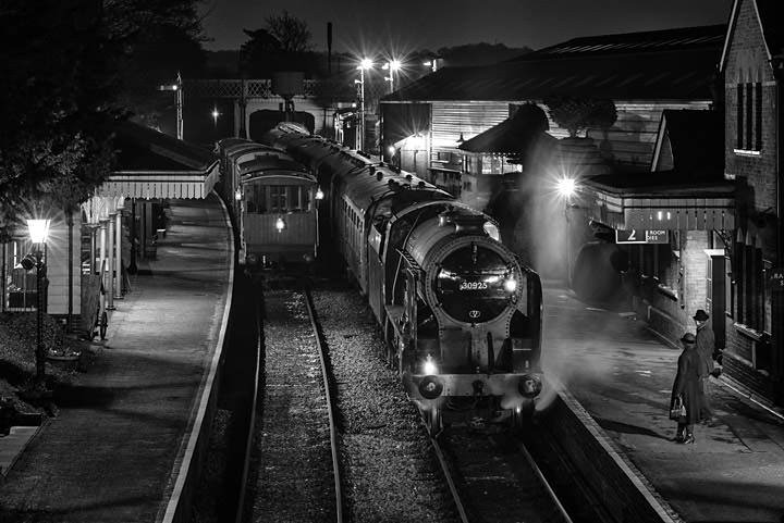 Photograph of Ropley Station 1