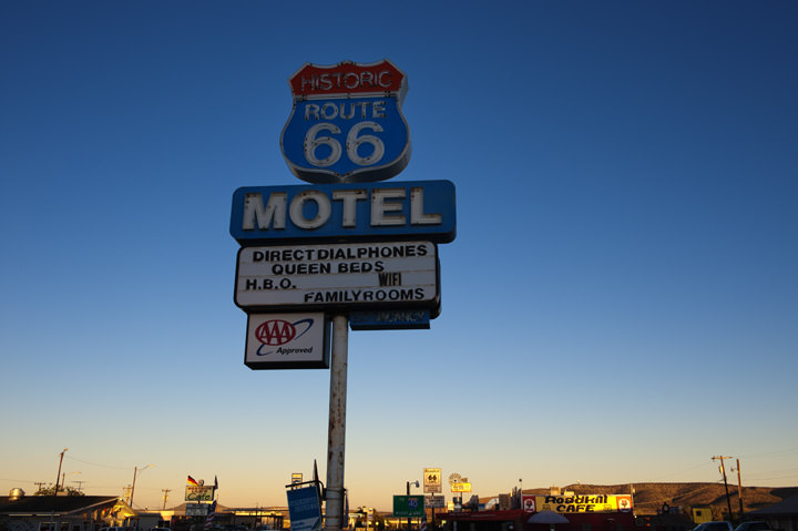 Photograph of Route 66 Hotel