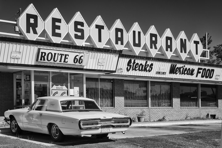 Photograph of Route 66 Restaurant Route 66 Photography CTvl1OAt