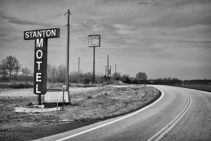 Photograph of Route 66 Stanton