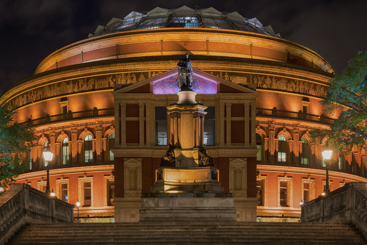 Colour photographs of royal albert hall for Door 8 royal albert hall