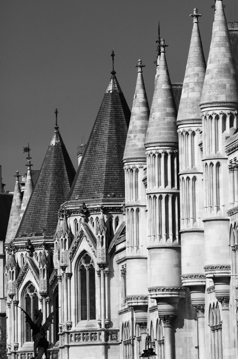 Photograph of Royal Courts of Justice 1