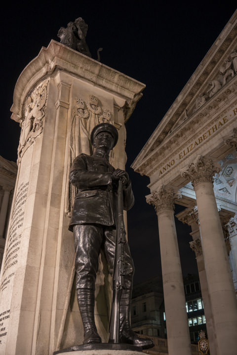WW1 Memorial - Royal Exchange