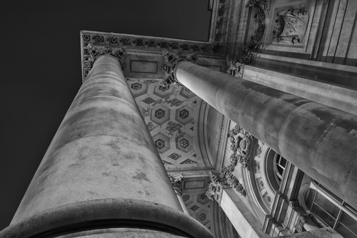 Photograph of Royal Exchange Detail