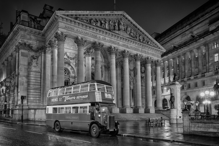 Royal Exchange London Bus 1