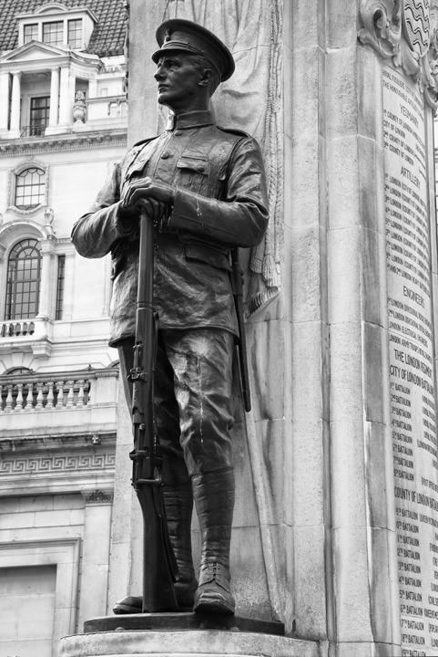 Photograph of Royal Exchange War Memorial