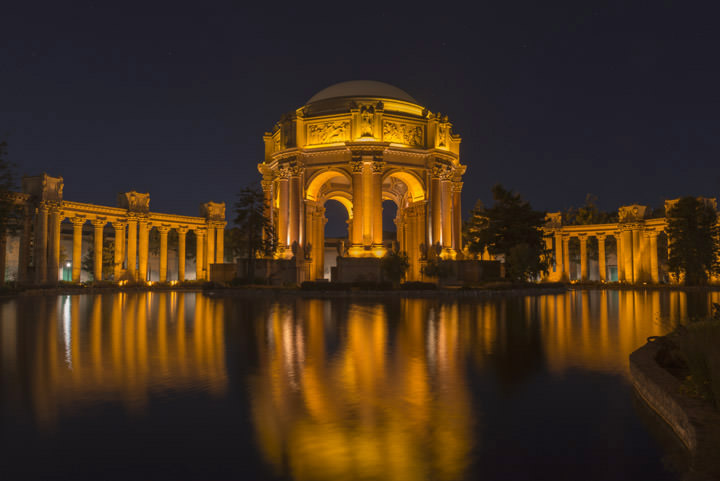 Photograph of SF Palace of Fine Arts 1