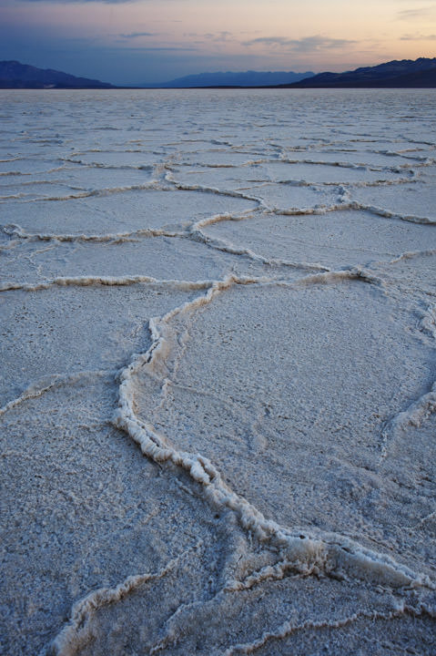 Salt Plates Badwater - Death Valley