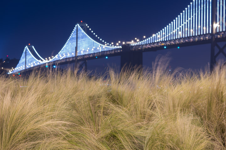 Photograph of San Francisco Bay Bridge 12