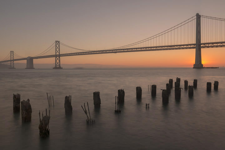 Photograph of San Francisco Bay Bridge 15