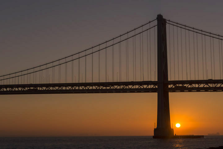 Photograph of San Francisco Bay Bridge 16