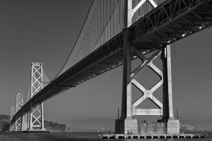 Photograph of San Francisco Bay Bridge 19