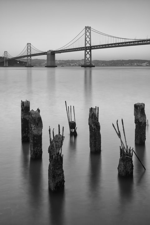 Photograph of San Francisco Bay Bridge 2