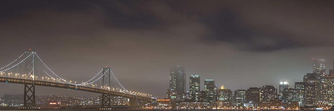 Photograph of San Francisco Bay Bridge 21