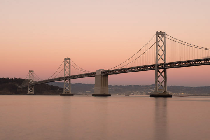Photograph of San Francisco Bay Bridge 5