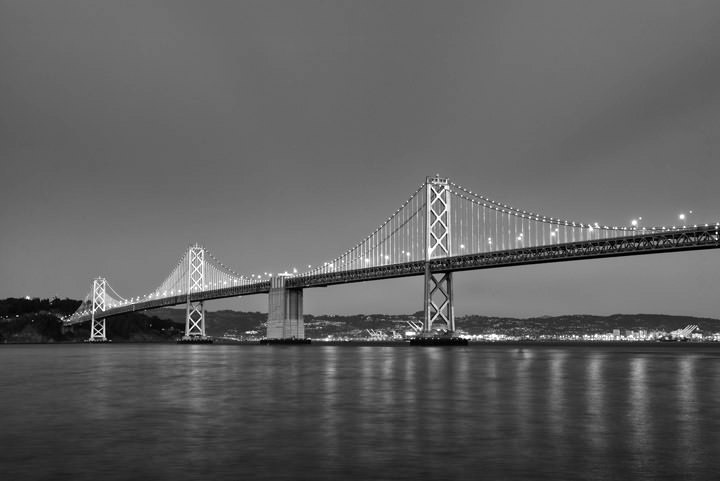 Photograph of San Francisco Bay Bridge 8
