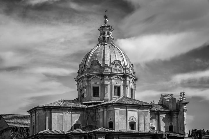 Photograph of San Luca Church Rome