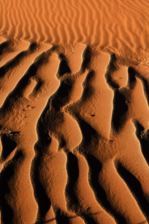 Sand Patterns Namibia - Africa