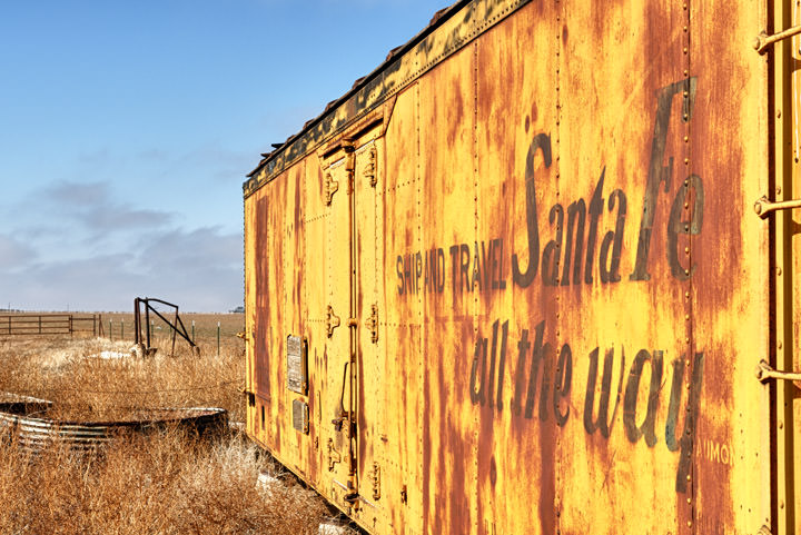 Photograph of Santa Fe Container