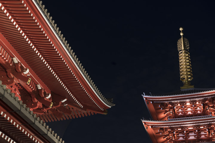 Photograph of Sensoji Asakusa 1