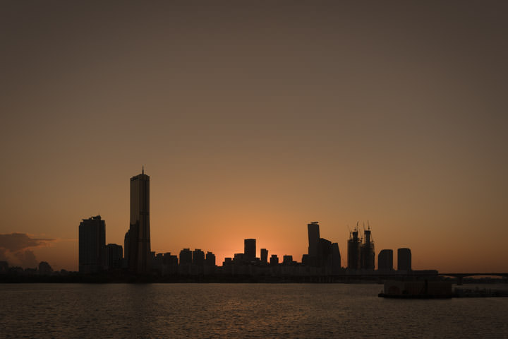 Photograph of Seoul Sunset 1