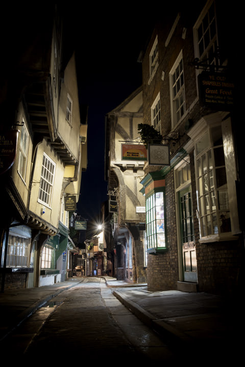 Photograph of Shambles 1 York