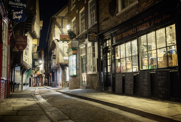 Photograph of Shambles 3 York