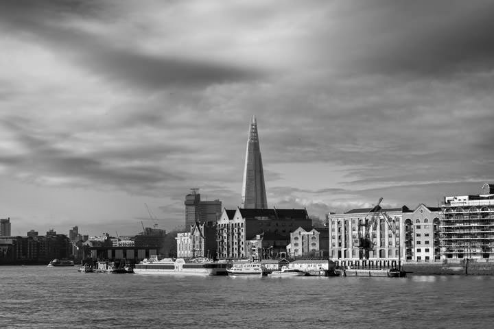 Photograph of Shard and Wapping