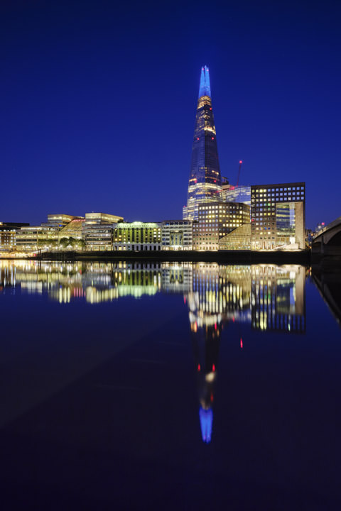 Photograph of Shard Reflection 1